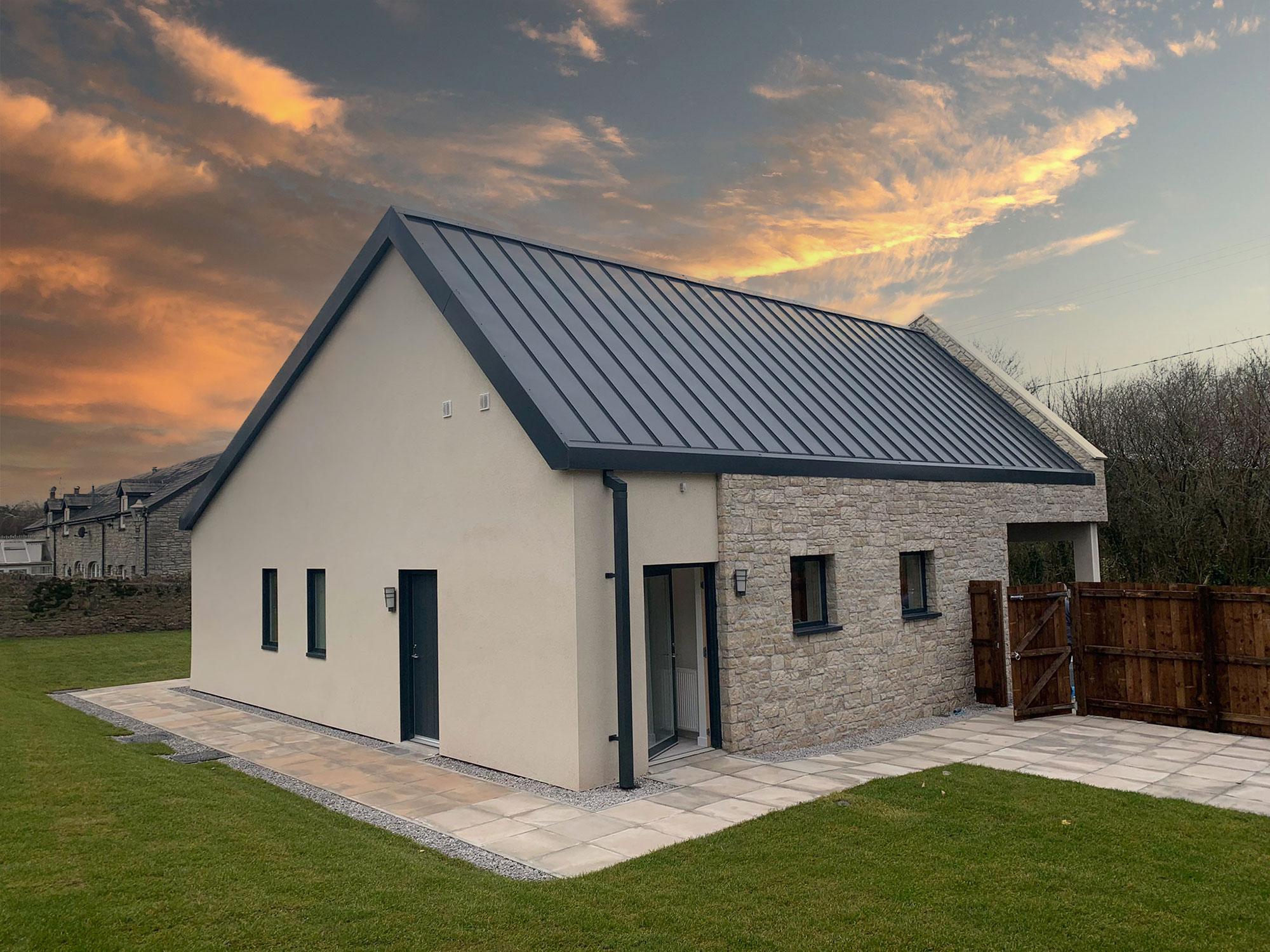 Handover of carbon positive bungalow